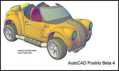 Autocad 2007 un exemple concret le journal de caderix - Voiture 3d dwg ...