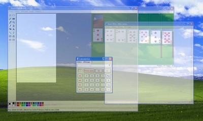 Rendre les fen tres de windows transparentes cadxp for Fenetre windows xp